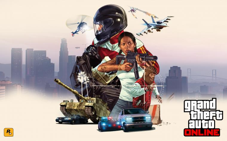 GTA Online Freemode Events Wallpapers HD Wallpapers