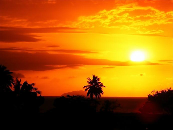 panoramio photo of caribbean sunset 3 caribbean sunset 3