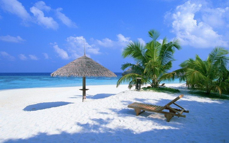 Beach Rest Place Wallpapers HD Wallpapers