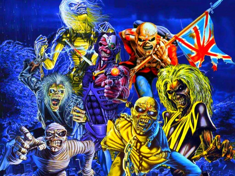 Review of iron maiden gig