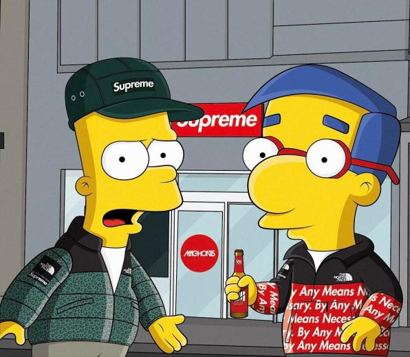 Supreme Simpson Cartoon Wallpapers   Top Supreme Simpson
