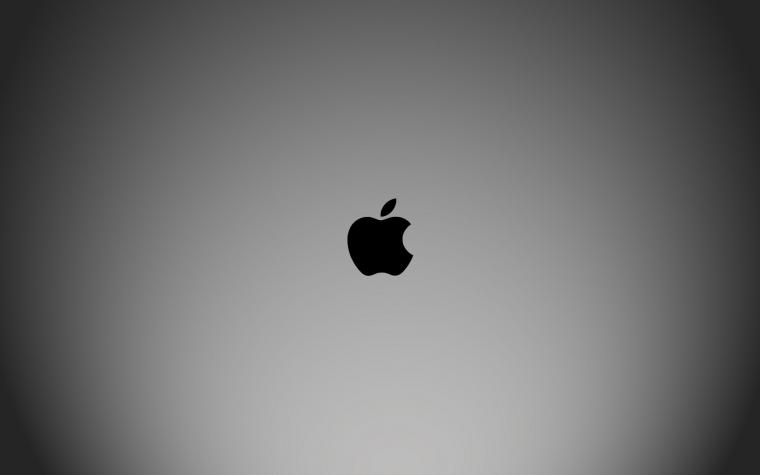 Apple Black and White Wide Wallpapers 3547   Amazing