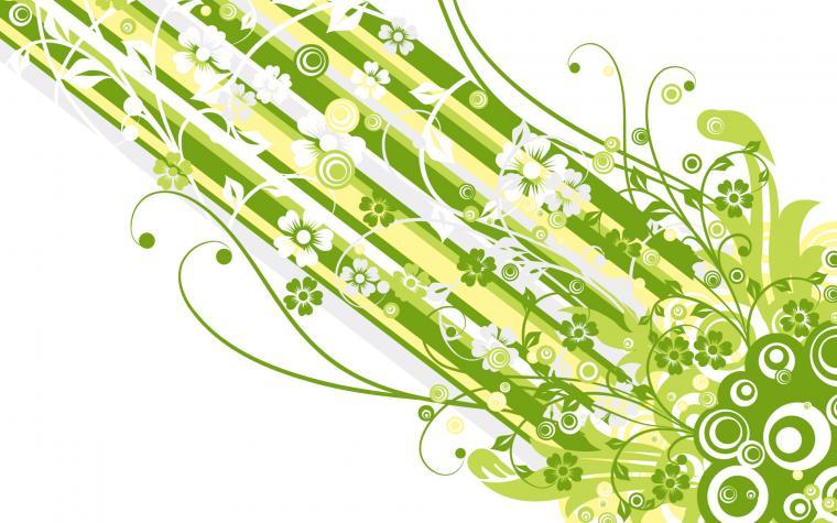 Green Vector Design Wallpapers HD Wallpapers