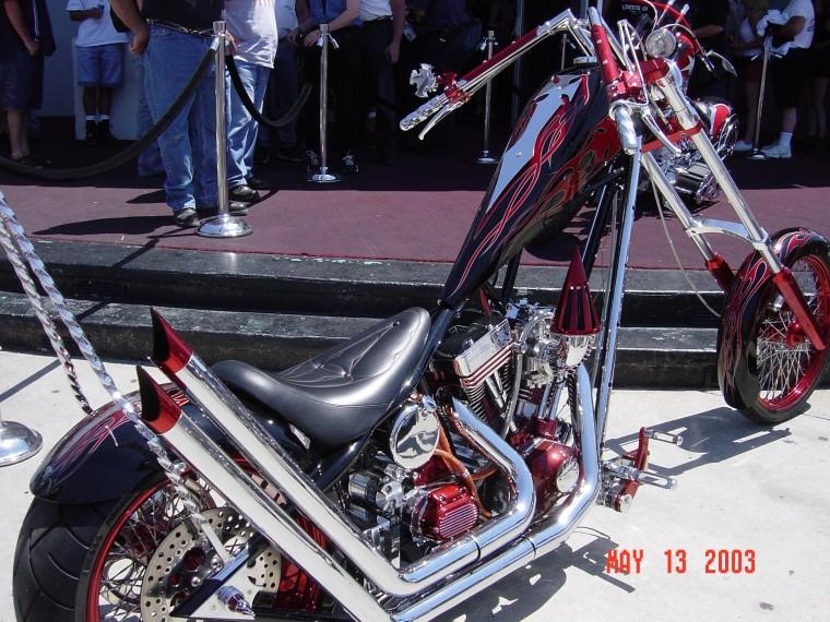 occ american leggend custom choppers