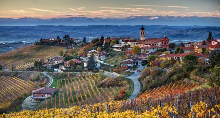 Italia Italy Piemonte Treiso landscapes wallpaper