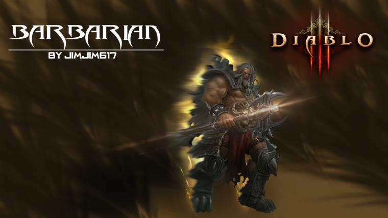 Diablo 3 Barbarian wallpaper   877168