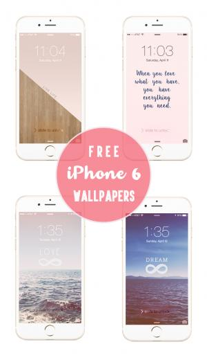 Be Linspired iPhone 6 Wallpaper Backgrounds Download