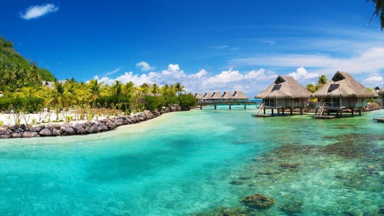 Tropical Island Desktop Wallpapers