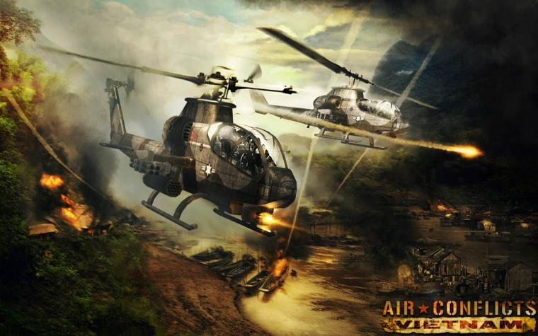 combat game Air Conflicts Vietnam Air Conflicts Vietnam will pit