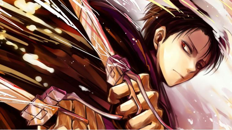 levi anime attack on titan shingeki no kyojin 1600x900 9l