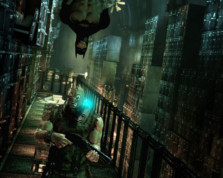 Batman Arkham Asylum Wallpaper in 1280x1024