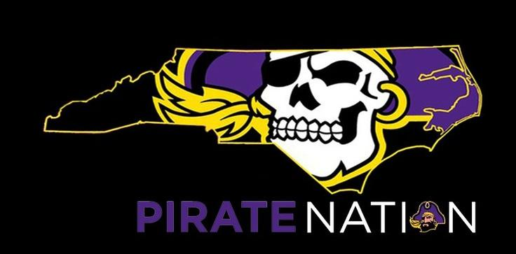 ECU Pirate Nation ARGGHHHH They love their football in Greenville