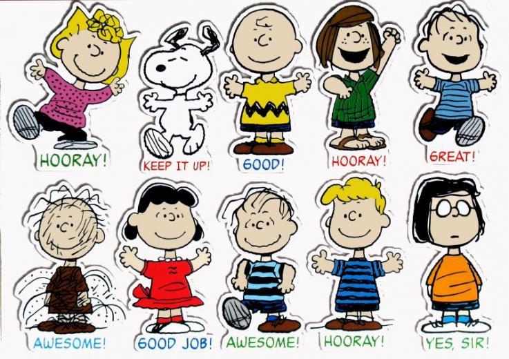 charlie brown peanuts characters names Success