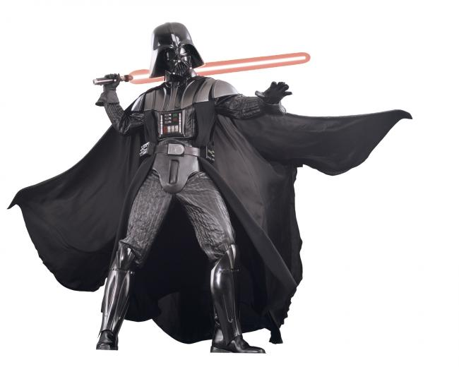 STAR WARS DARTH VADER SUPREME Rubies Adult Halloween THEATER