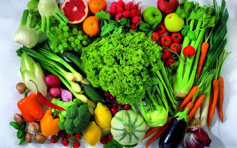 Fruit and vegetable mix Desktop wallpapers 1280x800