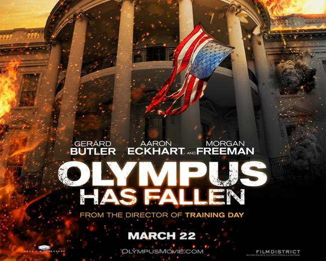 Olympus Has Fallen Wallpaper 01