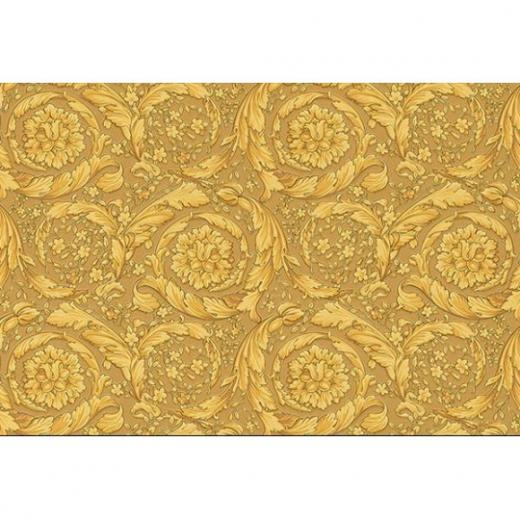 Home Shop By Style Floral Barocco Antique Gold Flowers Wallpaper