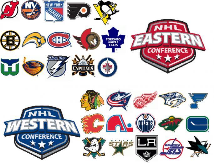 My Favorite NHL Logos by BennyLeo