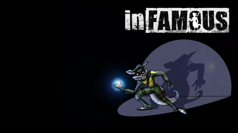 Sly is inFamous by a1backer