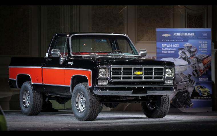 Truck Concepts at SEMA   1978 4x4 Pickup   3   2560x1600   Wallpaper
