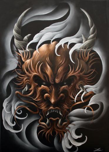 japanese dragon by URM