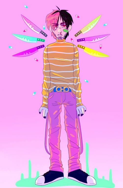 lil peep by radicalrumps
