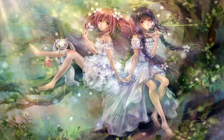 Fantasy Art Magic Anime Girls HD Wallpaperjpg 25602151600