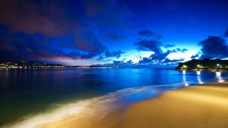 Cool Pictures Nature Beach HD Wallpaper of Beach   hdwallpaper2013com