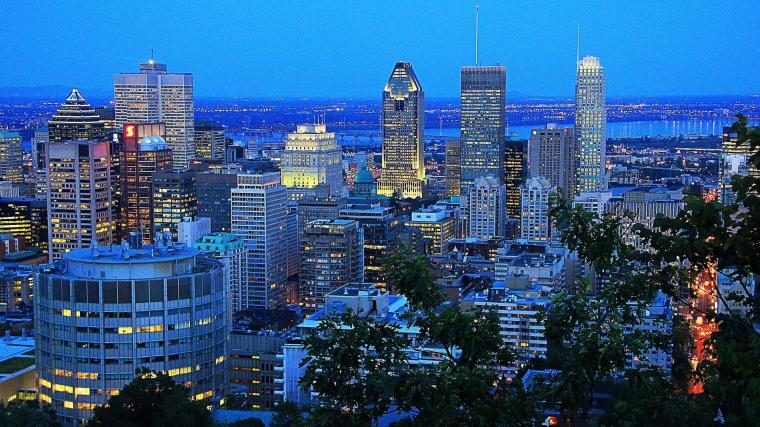 Download Wallpaper   Montreal Night Canada wallpapers