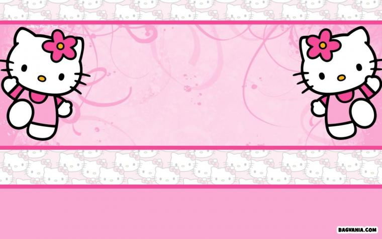 Printable Hello Kitty Birthday Invitations Bagvania FREE