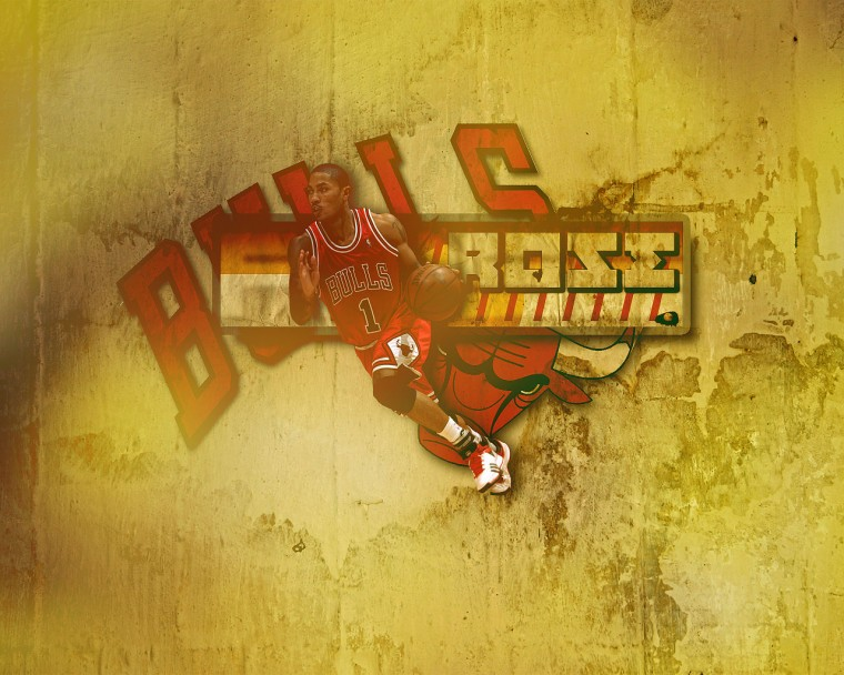 derrick rose bulls wallpaper