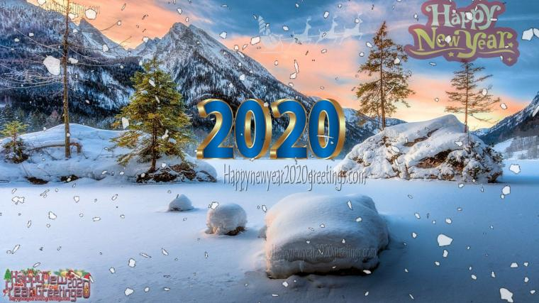 Happy New Year 2020 Nature Wallpapers Download   Nature