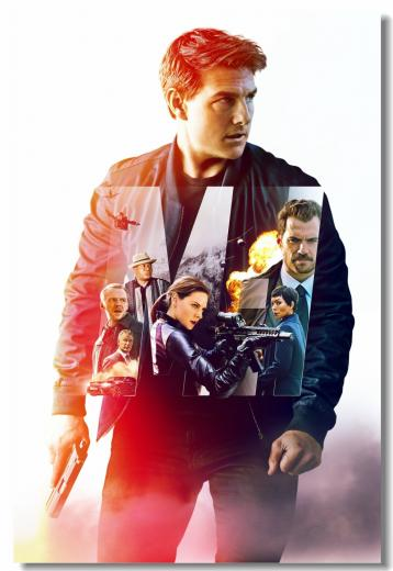 Custom Canvas Wall Decoration Art Mission Impossible Poster