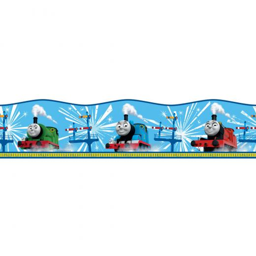 kids wallpaper borders stickers thomas the tank engine border invt