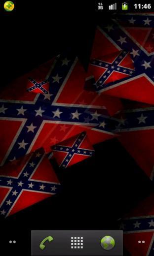 Confederate Flag live wallpaper android live wallpaper