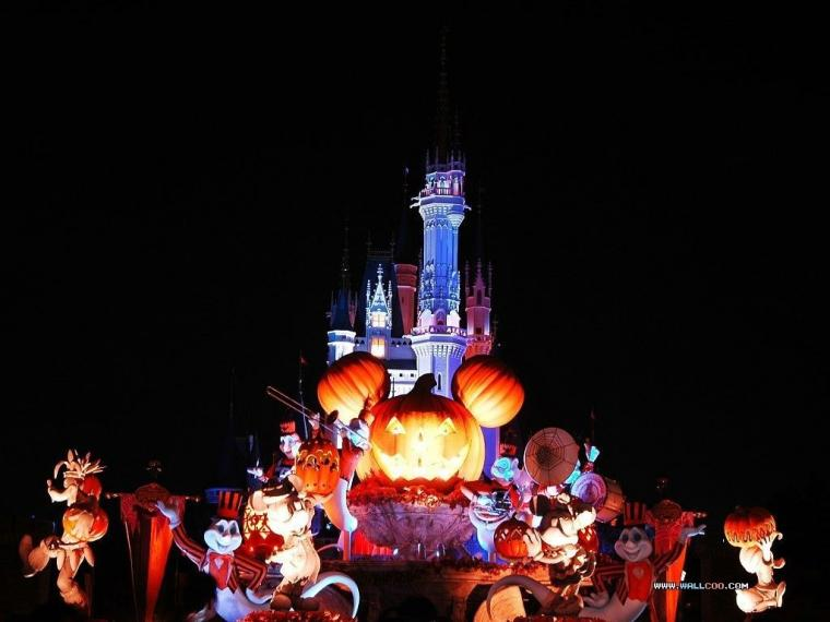 Disney World Halloween Desktop Background   clipartsgramcom
