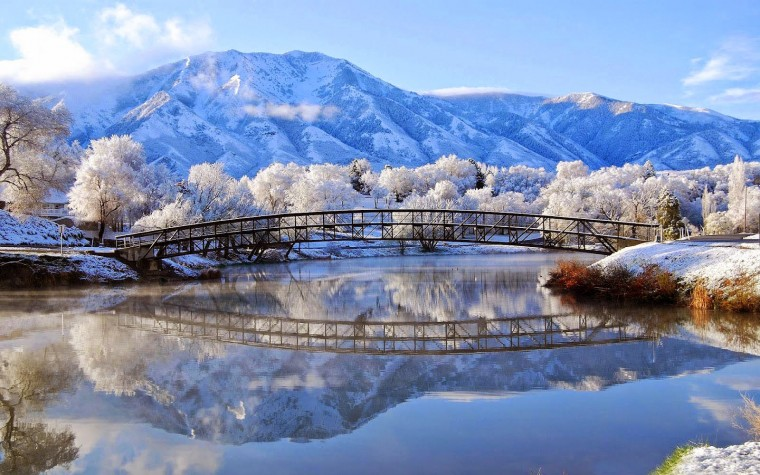 Beautiful Winter Scenery Wallpaper   Wallpapers And Pictures