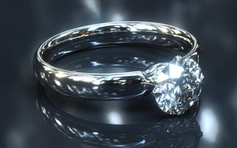 Diamond ring   diamonds Wallpaper