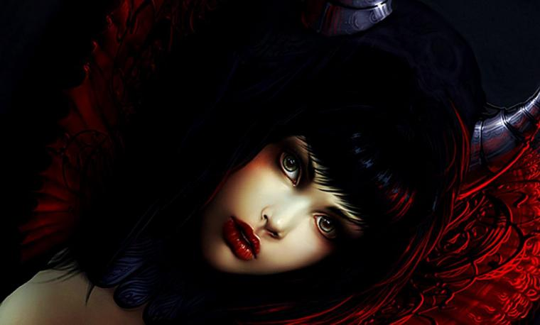 DEVIL GIRL WALLPAPER   123504   HD Wallpapers   [wallpapersinhqpw]