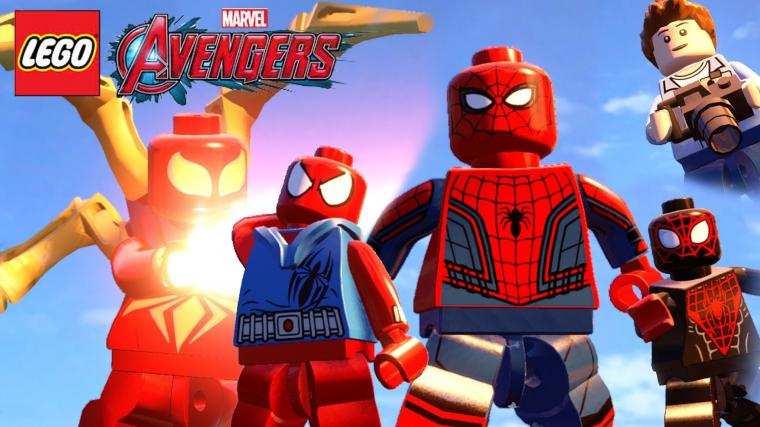 63 Lego Spiderman Wallpapers on WallpaperPlay