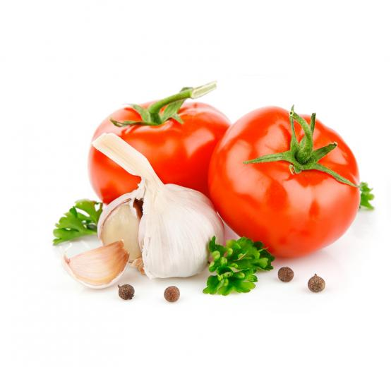 White Background Fruit and Vegetables 2