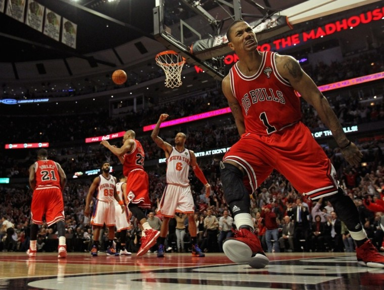 Wallpaper Derrick Rose Chicago Bulls Hd Wallpaper Upload at February