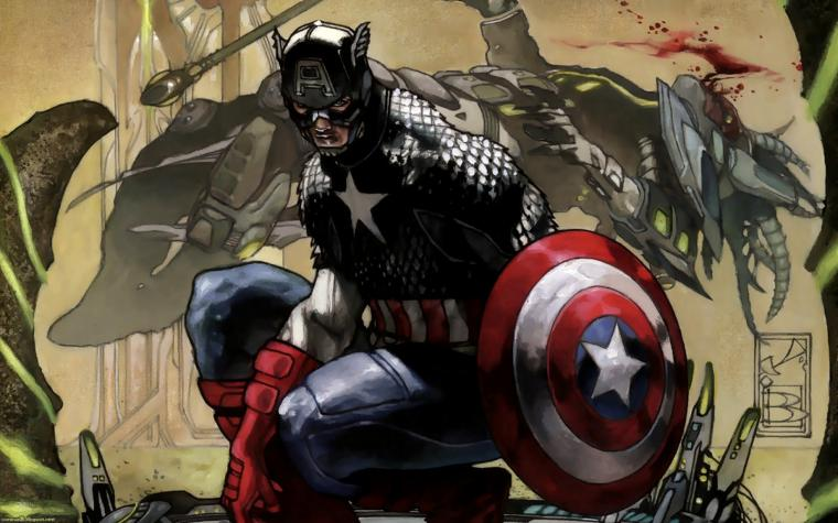 Comic Wallpapers Captain America   Comic Wallpaper