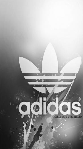 gray adidas backgrounds for iphone 5 640x1136 hd iphone 5 wallpapers