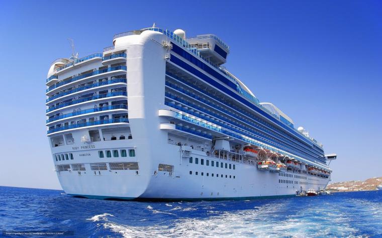 Download wallpaper ship Cruise Ship ocean desktop wallpaper in