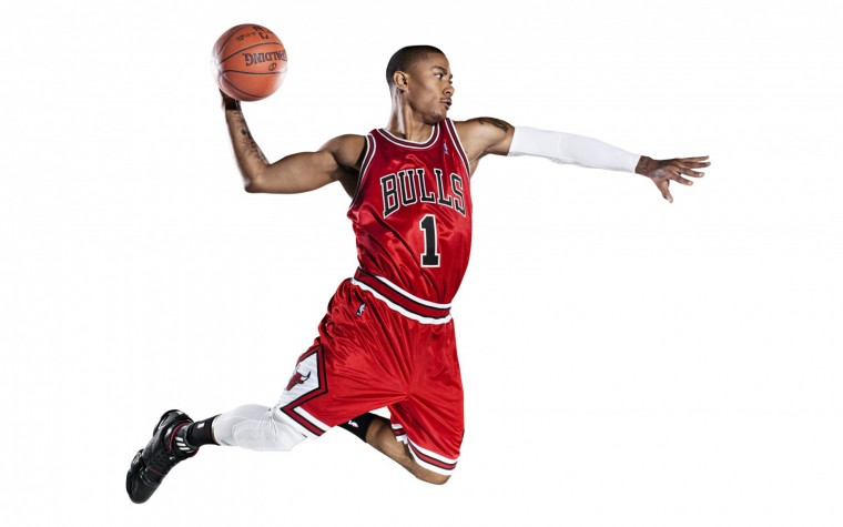 Derrick Rose 2013 Chicago Bulls NBA USA Hd Desktop Wallpaper