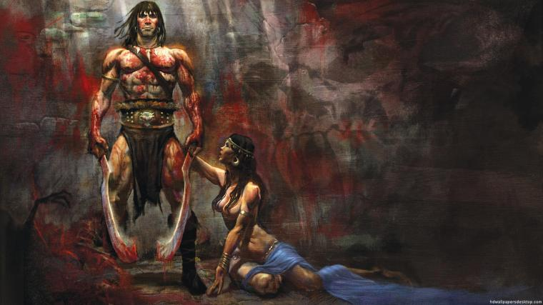 Conan the Barbarian Art