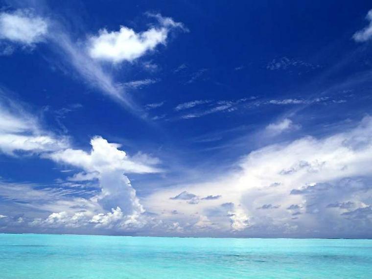Blue Ocean Nature Backgrounds