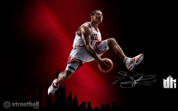 Pics Photos   Basketball Derrick Rose Wallpapers