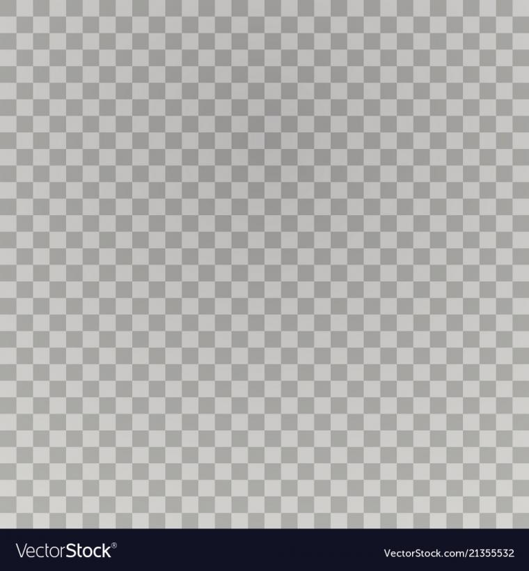 Transparent background transparent grid colorless Vector Image